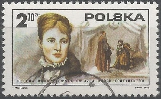 Helena Modrzejewska: stage actress: