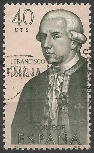 Juan Francisco de la Bodega y Cuadra: commandant of the naval department of San Blas, in the Viceroyalty of Nueva España, in 1789