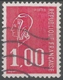 dessinateur de timbres-poste: Marianne d'usage courant