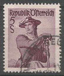 Briefmarkenkünstler: Volkstrachten: Zillertal