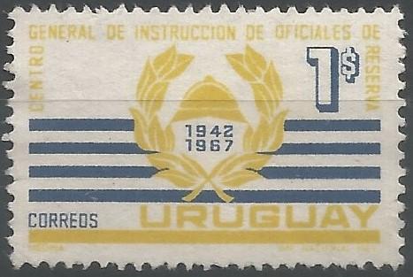25.º aniversario del Centro general de instrucción de oficiales de reserva (1942-1967)