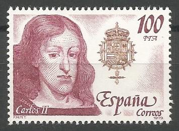 Carlos II, rey de Castilla, 1665-1700